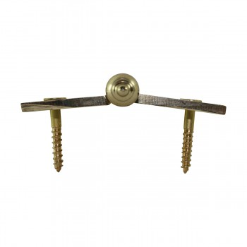 "<PRE>Lift Off Right Brass Cabinet Hinge 2inch x 2.5"" Temple Tip </PRE>zoom8"
