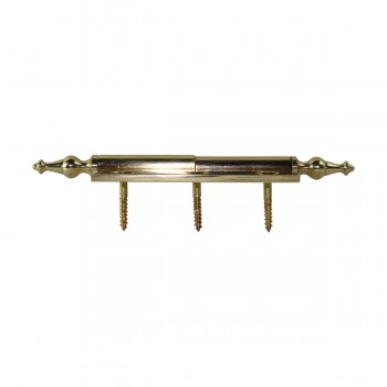"<PRE>Lift Off Right Brass Cabinet Hinge 2inch x 2.5"" Temple Tip </PRE>zoom9"