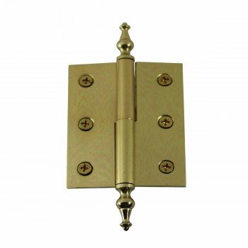 "<PRE>Lift Off Right Brass Cabinet Hinge 2inch x 2.5"" Temple Tip </PRE>zoom1"