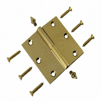 <PRE>3inch Lift Off Right Brass Cabinet Hinge Vintage Decor Tip </PRE>
