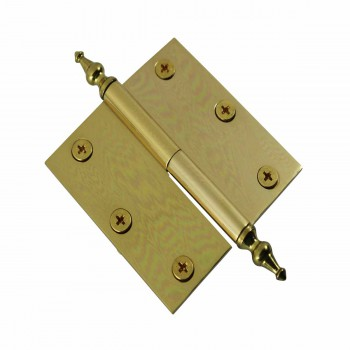 <PRE>3in Lift Off Right Brass Cabinet Hinge Vintage Temple Tip </PRE>