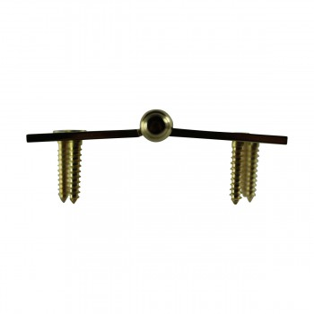 "<PRE>4"" Lift Off Right Brass Door Hinge Vintage Steeple Tip </PRE>zoom8"