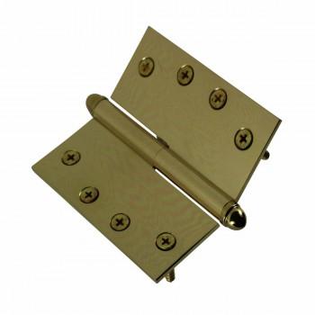 <PRE>4inch Lift Off Right Brass Door Hinge Vintage Helmet Tip </PRE>zoom5
