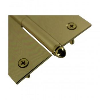 <PRE>4inch Lift Off Right Brass Door Hinge Vintage Helmet Tip </PRE>zoom7