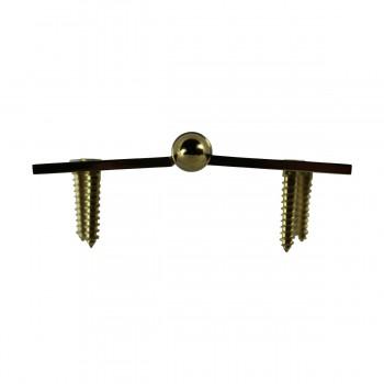 <PRE>4inch Lift Off Right Brass Door Hinge Vintage Helmet Tip </PRE>zoom8