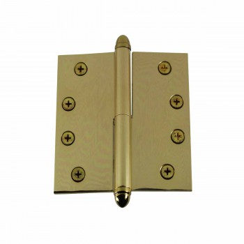 4inch Lift Off Right Brass Door Hinge Vintage Helmet Tip 15070grid