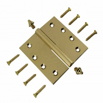 <PRE>4 inch Lift Off Right Brass Door Hinge Vintage Decor Tip </PRE>zoom3