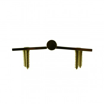 <PRE>4 in. Lift Off Right Brass Door Hinge Vintage Coin Tip </PRE>zoom7
