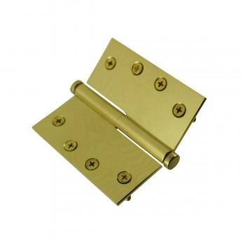 <PRE>4 in. Lift Off Right Brass Door Hinge Vintage Coin Tip </PRE>zoom9