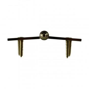 <PRE>4 inch Lift Off Right Brass Door Hinge Vintage Urn Tip </PRE>zoom7