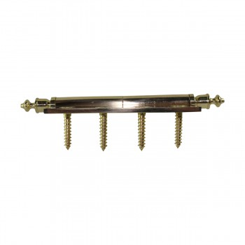 <PRE>4 inch Lift Off Right Brass Door Hinge Vintage Urn Tip </PRE>zoom8