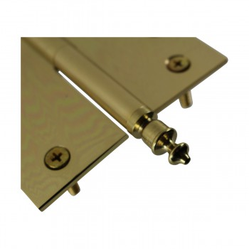 <PRE>4 inch Lift Off Right Brass Door Hinge Vintage Urn Tip </PRE>zoom9