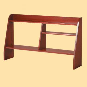 <PRE>Computer Desk Shelf Cherry Stain Hardwood 44inchW </PRE>zoom2