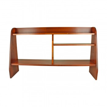 <PRE>Computer Desk Shelf Cherry Stain Hardwood 44inchW </PRE>zoom3
