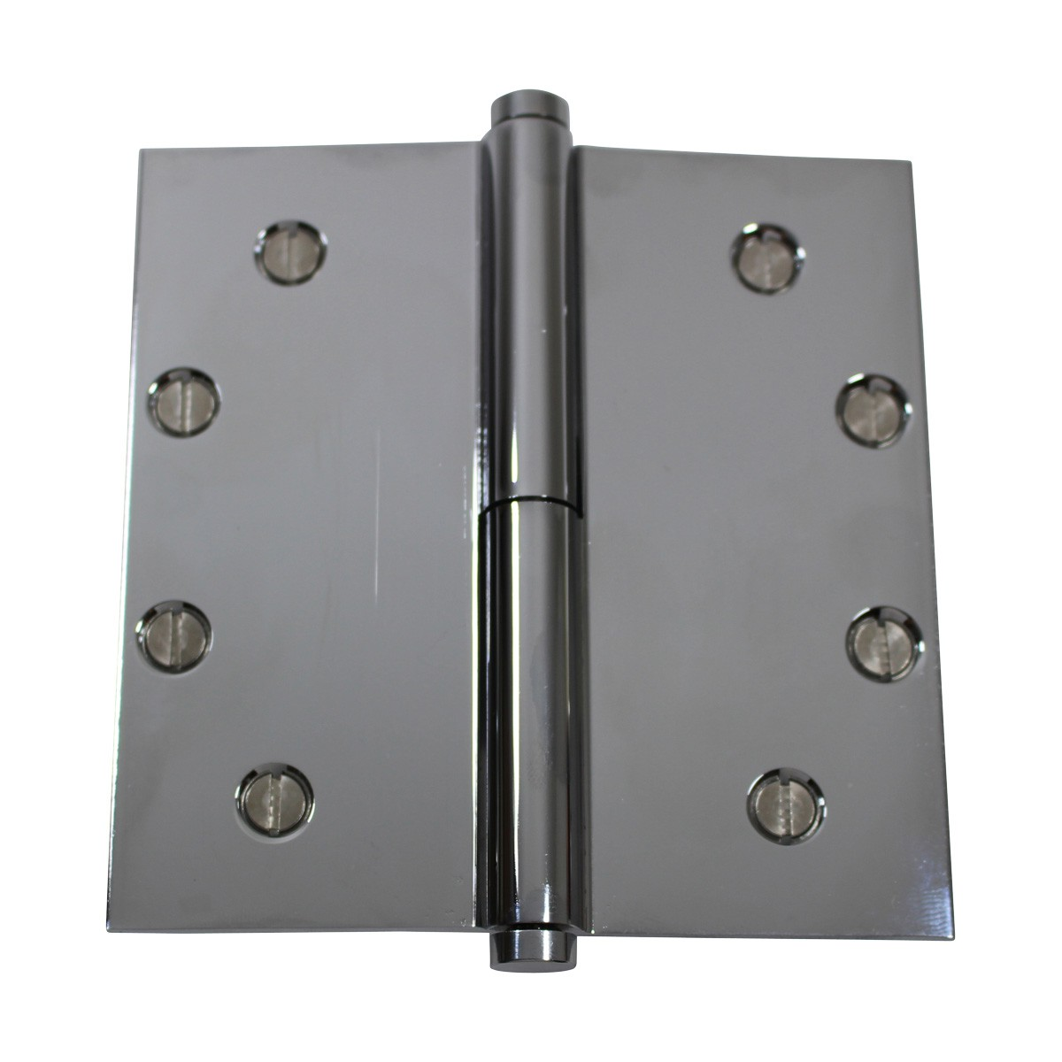5 in. Lift Off Right Chrome Brass Door Hinge Coin Tip Door Hinges Door Hinge Solid Brass Hinge