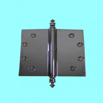 Door Hinges - Lift Off Hinge 5 x 5 Square LOR Urn Finials by the Renovator's Supply