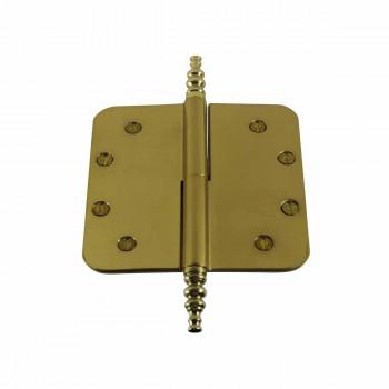 <PRE>5&quot; Lift Off Right Brass Door Hinge Radius Steeple Tip </PRE>