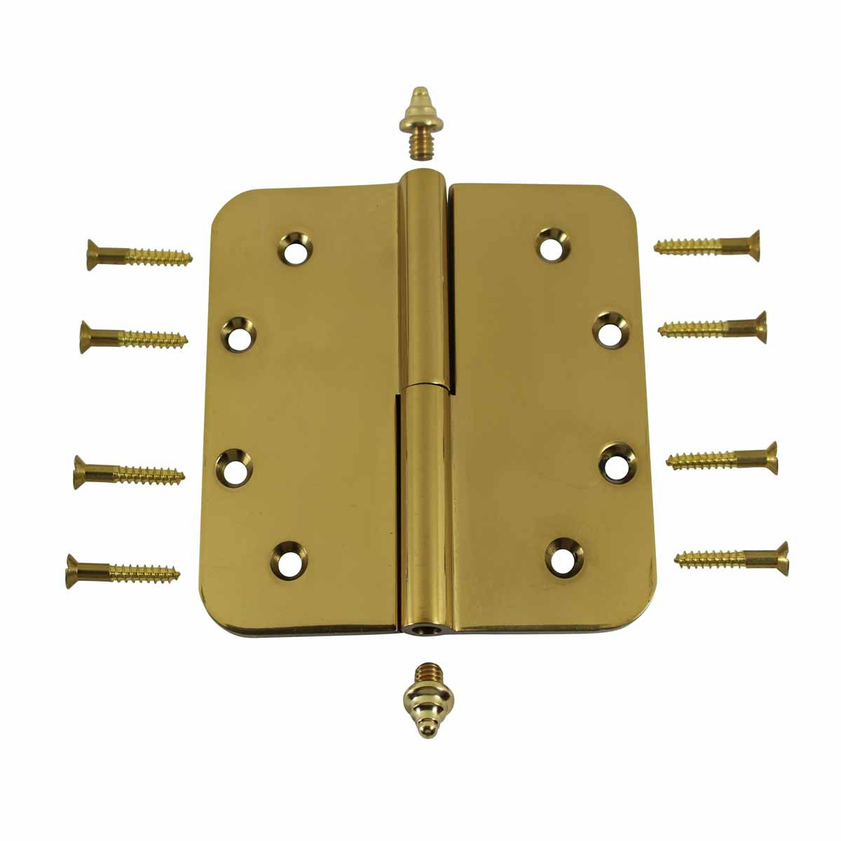 how to clean brass hinges