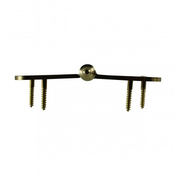 <PRE>5 inch Lift Off Right Brass Door Hinge Radius Decor Tip </PRE>zoom8