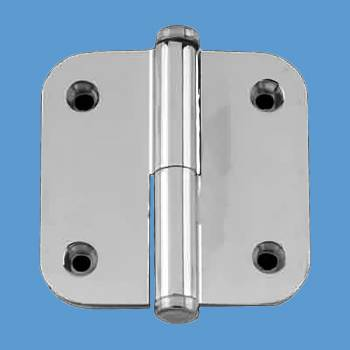 <PRE>Cabinet Hinge 2&quot; Lift Off Right Chrome Radius Coin Tip </PRE>