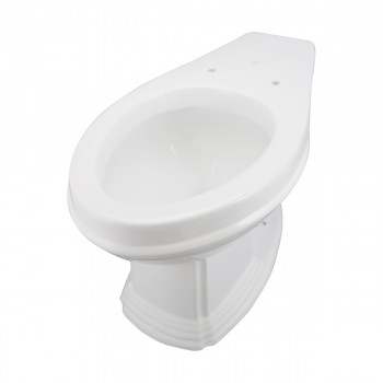 Toilet Part White Sheffield Elongated Rear Entry Toilet Bowl Only White Toilet Bowl Only Vitreous China Toilet Bowl Only Glossy Toilet Bowl Only