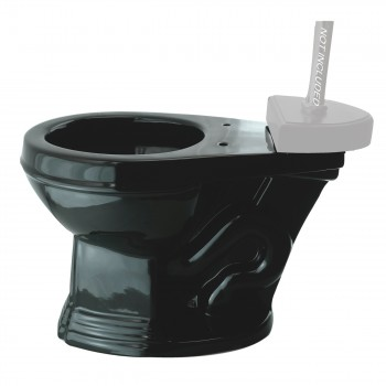 <PRE>Toilet Part Black Sheffield Top Entry Toilet Bowl Only </PRE>zoom11