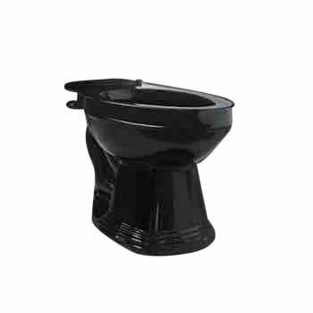 Toilet Part Black Sheffield Top Entry Toilet Bowl Only 15299grid