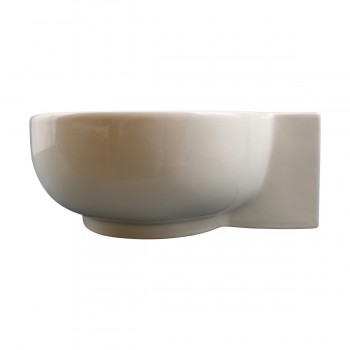 <PRE>Bathroom Vessel Sink Oval Biscuit China Faucet Hole </PRE>zoom4