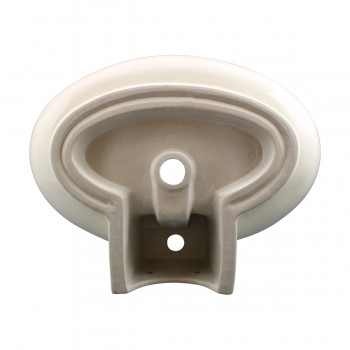 <PRE>Bathroom Vessel Sink Oval Biscuit China Faucet Hole </PRE>zoom6