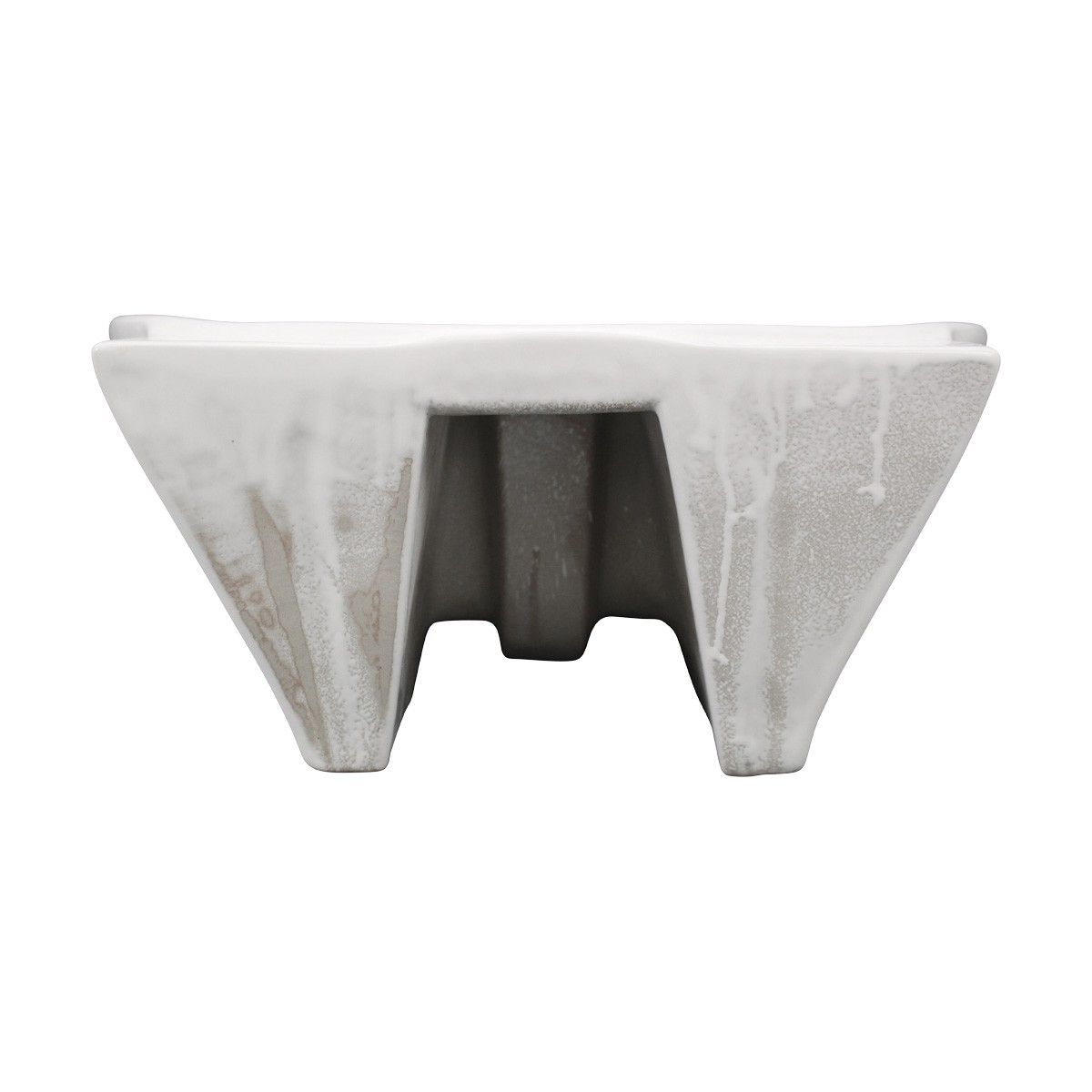 Bathroom Vessel Above Counter Sink White China Single Faucet Hole With Overflow bathroom vessel sinks Countertop vessel sink Bathroom Vessel Sink