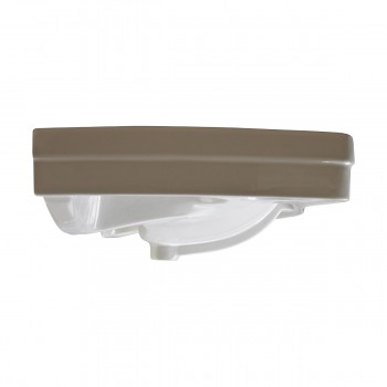 <PRE>Bathroom Vessel Above Counter Sink White China Single Faucet Hole With Overflow</PRE>zoom5