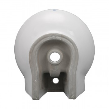 <PRE>Bathroom Vessel Above Counter Sink White China Single Faucet Hole With Overflow</PRE>zoom8