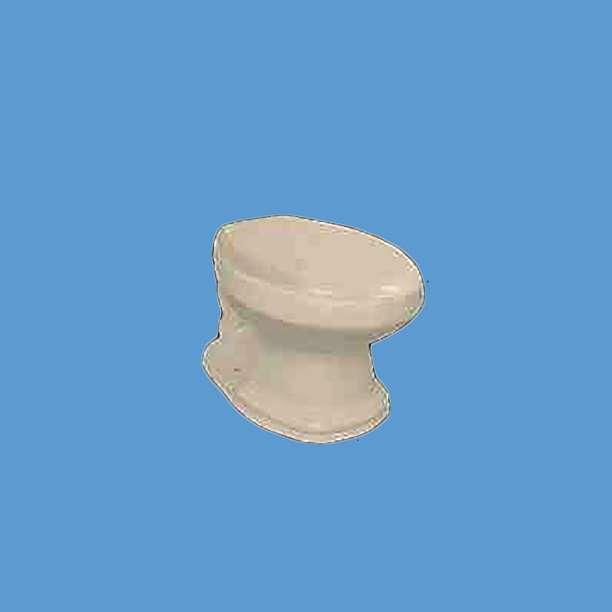 toilet part bone elongated toilet bowl only