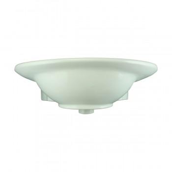 <PRE>Renovator's Supply Half Basin Pedestal Sink Wall Mount Bathroom Basin White</PRE>zoom4