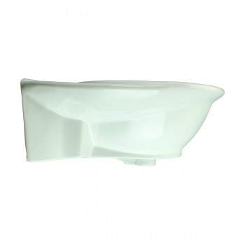 <PRE>Renovator's Supply Half Basin Pedestal Sink Wall Mount Bathroom Basin White</PRE>zoom5
