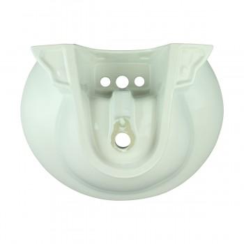 <PRE>Renovator's Supply Half Basin Pedestal Sink Wall Mount Bathroom Basin White</PRE>zoom6
