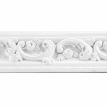 Cornice White Urethane Gilson Sample of 12407 15386grid