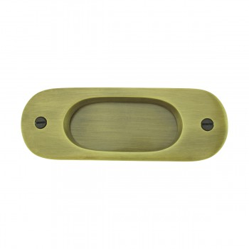 <PRE>Door Pull Antique Brass RSF Pull 5 1/16inchH </PRE>zoom3
