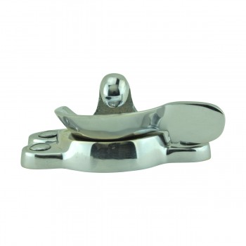 <PRE>Traditional Window Sash Lock Brass Bright Chrome </PRE>zoom12