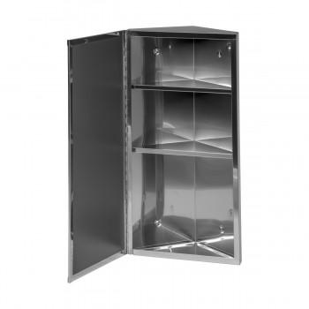 <PRE>Wall Mount Bathroom Corner Mirror Medicine Cabinet Polished Stainless Steel</PRE>zoom5