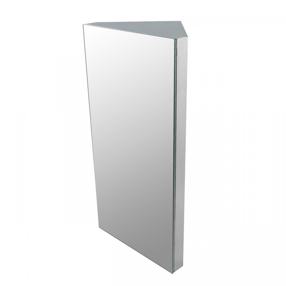 Stainless Steel Medicine Cabinet Corner Wall Mount