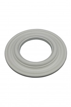 <PRE>Recessed Spot Light Trim White Urethane Durable Foam 4inch ID </PRE>zoom1