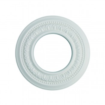 "<PRE>Spot Light Ring White Trim 4inch ID x 8"" OD Mini Medallion </PRE>zoom3"