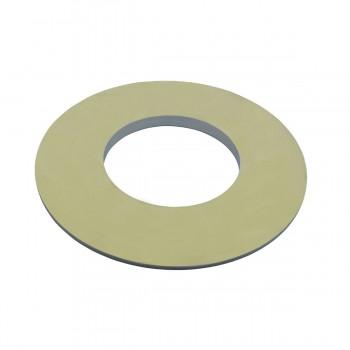 "<PRE>Spot Light Ring White Trim 4inch ID x 8"" OD Mini Medallion </PRE>zoom6"