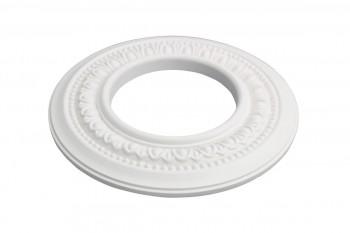 Spot Light Ring White Trim 4 ID x 8 OD Mini Medallion