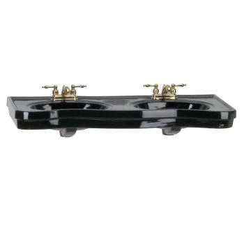 Belle Epoque Double Console Only - Black