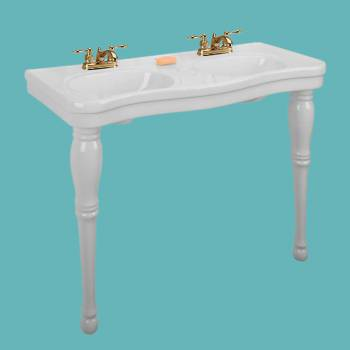 Classic Double Sink Console -  by the Renovator's Supply