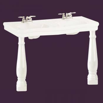 Bathroom Double Sink -  by the Renovator's Supply