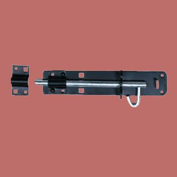 <PRE>Black Wrought Iron Slide Door Brenton Bolt 8inch </PRE>zoom2