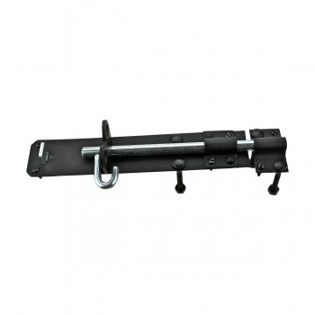 <PRE>Black Wrought Iron Slide Door Brenton Bolt 8inch </PRE>zoom11